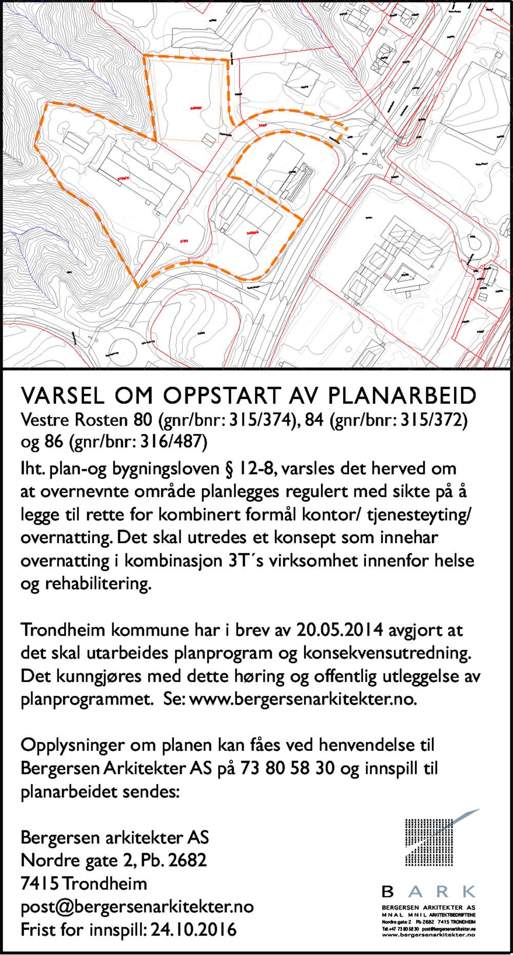 2016-09-08-kunngjoringsannonse_varsel_om_oppstart_planarbeid_vestre_rosten_80_84_86