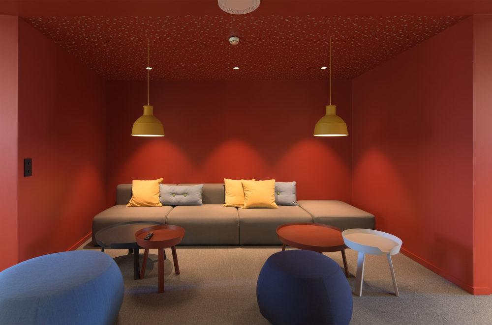 Sosial sone soffagruppe sittegruppe kosekrok kontormiljø