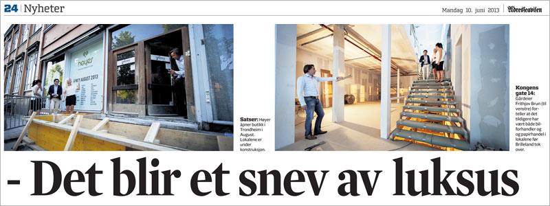 Publikasjon_Adressa_det_blir_et_snev_av_luksus_Hoyer_butikk_ved_torget_Midtbyen_Trondheim