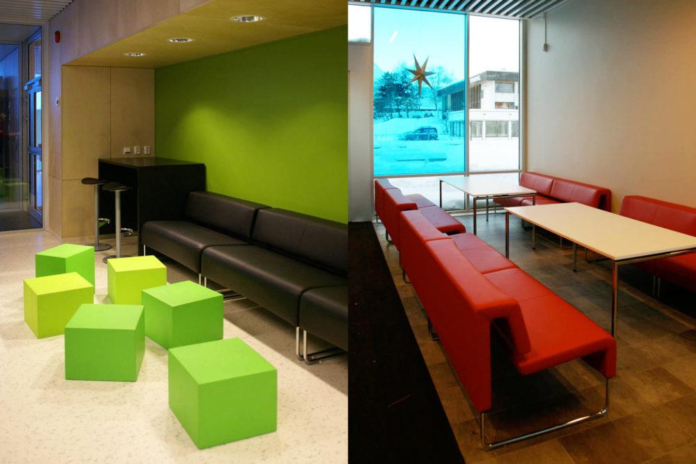 arkitektur_interior_sunndalsora_more_og_romsdal_sunndal_kultur_og_ungdomsskole_sofaer_farget_vindu_utsikt_sittekrok