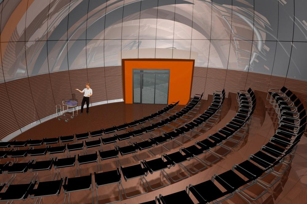 arkitektur_torndheim_forslag_utforming_laboratoriebygg_gloshaugen_ntnu_sintef_interior_auditorium_undervisning_undervisningsrom