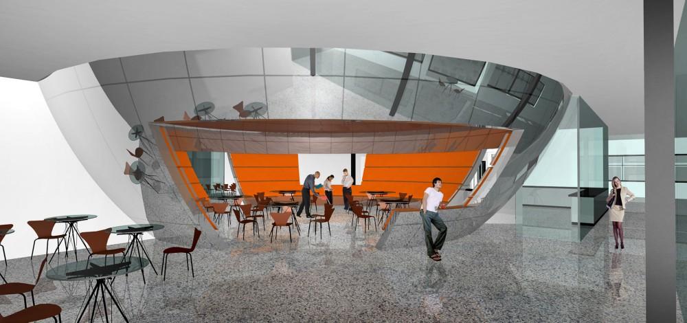 arkitektur_torndheim_forslag_utforming_laboratoriebygg_gloshaugen_ntnu_sintef_interior_kantine_spisested_spis_servering