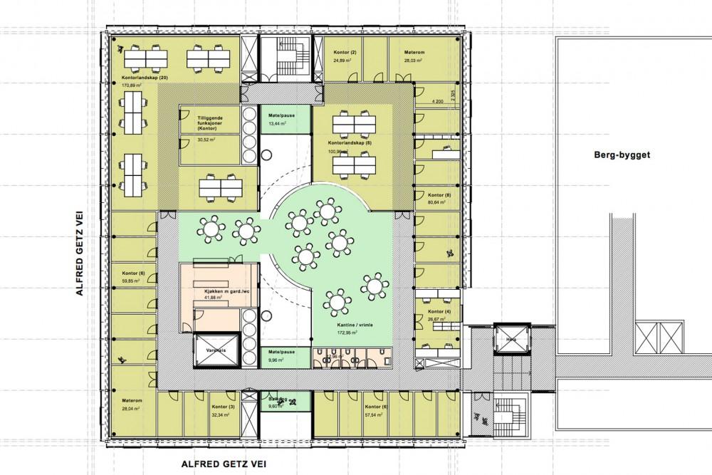 arkitektur_torndheim_forslag_utforming_laboratoriebygg_gloshaugen_ntnu ...