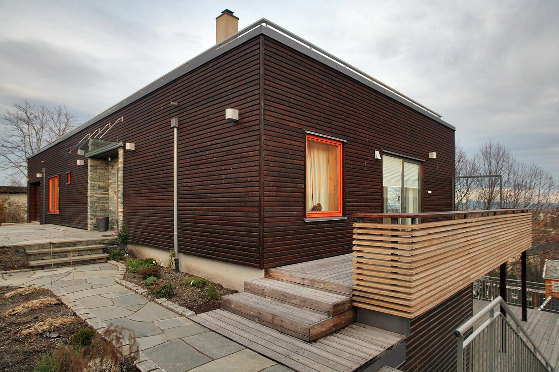 arkitekt trondheim enebolig belysning m rk stue. Black Bedroom Furniture Sets. Home Design Ideas