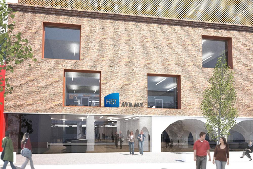 arkitektur_trondheim_campus_kalvskinnet_ekserior_gateplan