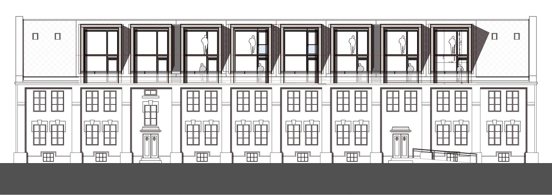 arkitektur_trondheim_hospitalslokkan_20b_ombygget_nye_boliger_leiligheter_oppriss_fasadetegning