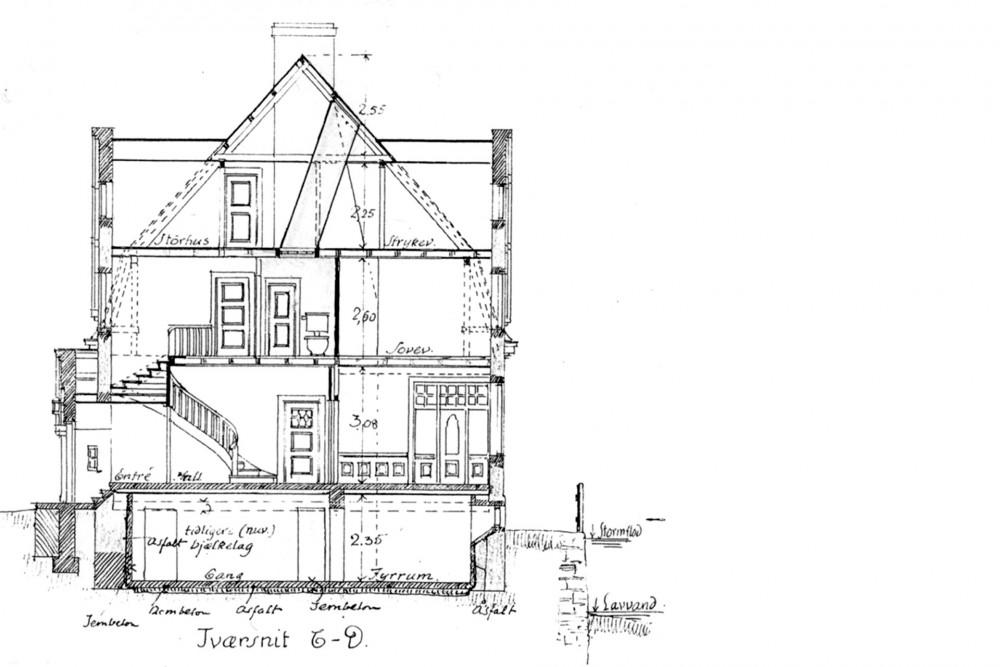 arkitektur_trondheim_midtbyen_barnehage_rehabilitering_oppgradering_elvegata_1_b_gamle_tverrsnittet_boligen