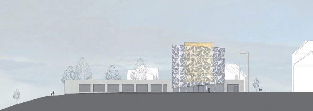 arkitektur_trondheim_ny_katolsk_domkirke_forslag_utforming_fasade_mot_ost