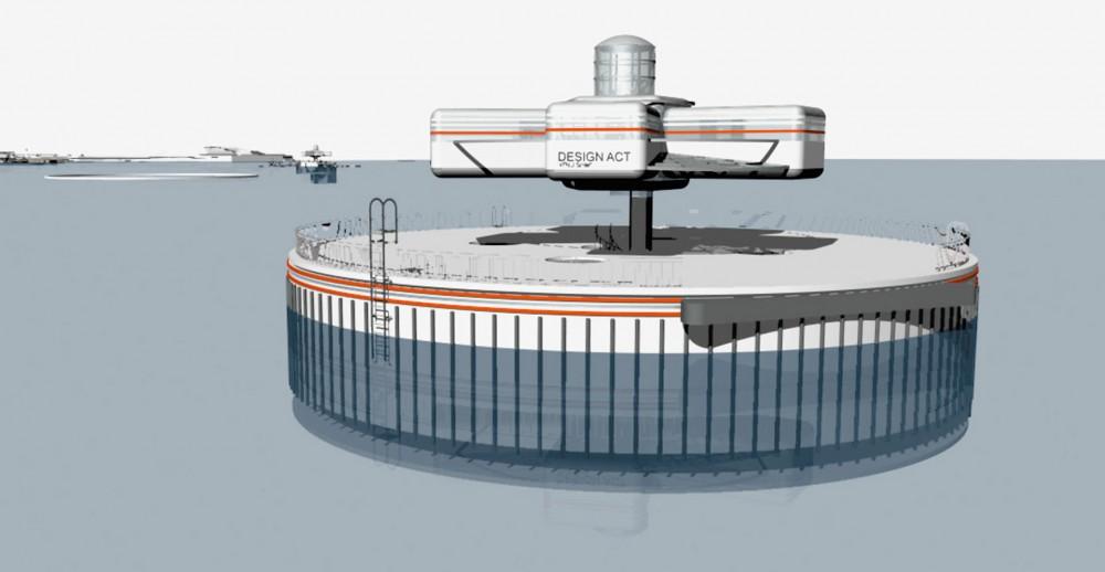 arkitektur_trondheim_sintef_ntnu_design_act_modul_eu_prosjekt_kontorer_verksted_perspektiv_sjoanlegg_havanlegg_arbeidsmodul