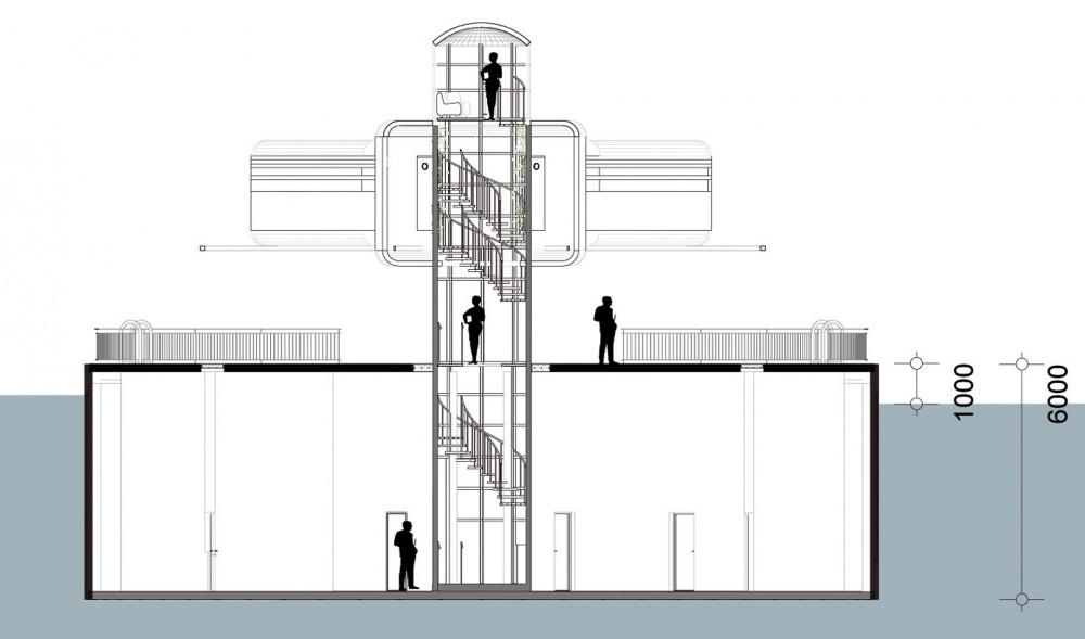 arkitektur_trondheim_sintef_ntnu_design_act_modul_eu_prosjekt_kontorer_verksted_snitt_maritim_maritimt_miljo_sjo_hav