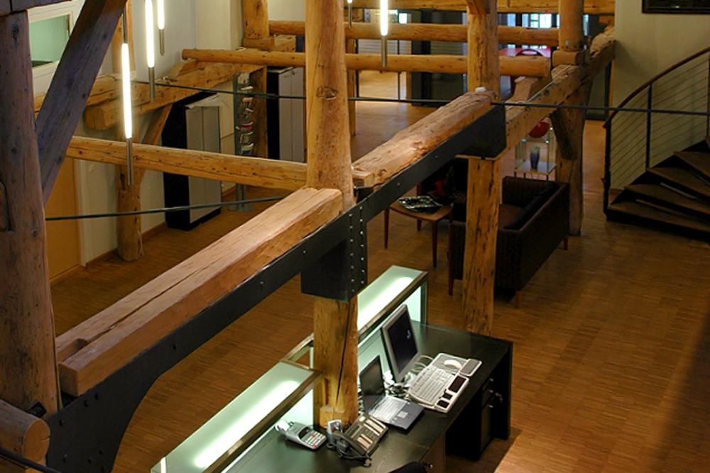 arkitektur_trondheim_trebryggene_ombygging_rehabilitering_trebrygge_kontor_kontorbygg_interior_informasjon_ovenfra