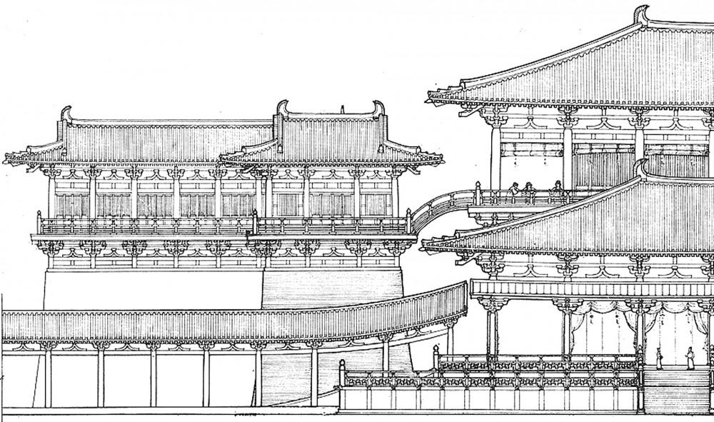 arkitektur_xi_an_national_relics_park_kina_kinesisk_tradisjon_tradisjoner_tradisjonsrikt_palass_bygg_bygning