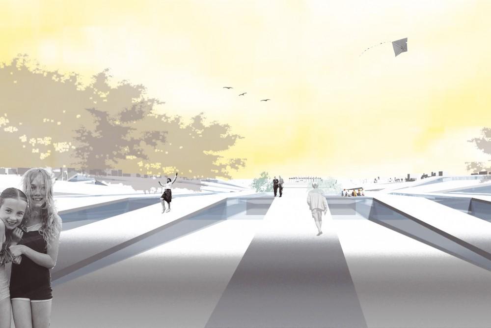 arkitektur_xi_an_national_relics_park_kina_perspektivskisse