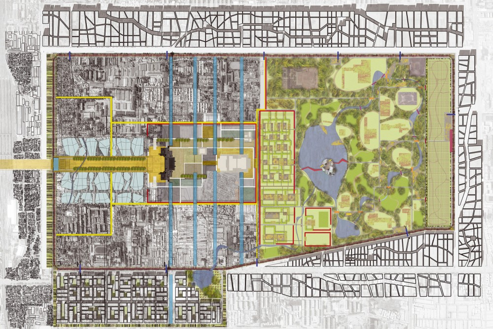 arkitektur_xi_an_national_relics_park_kina_plan_over_omradet